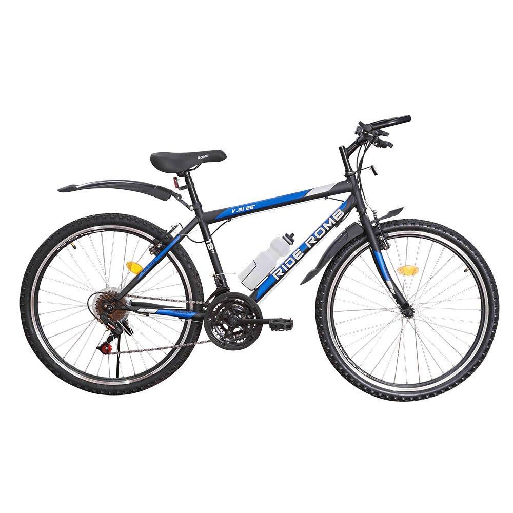Велосипед SPARK RIDE ROMB V.21 26-ST-18-ZV-V (Черный с синим)