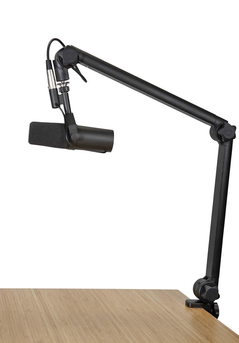 Пантограф стойка для микрофона GATOR FRAMEWORKS GFWMICBCBM3000 Deluxe Desktop Mic Boom Stand