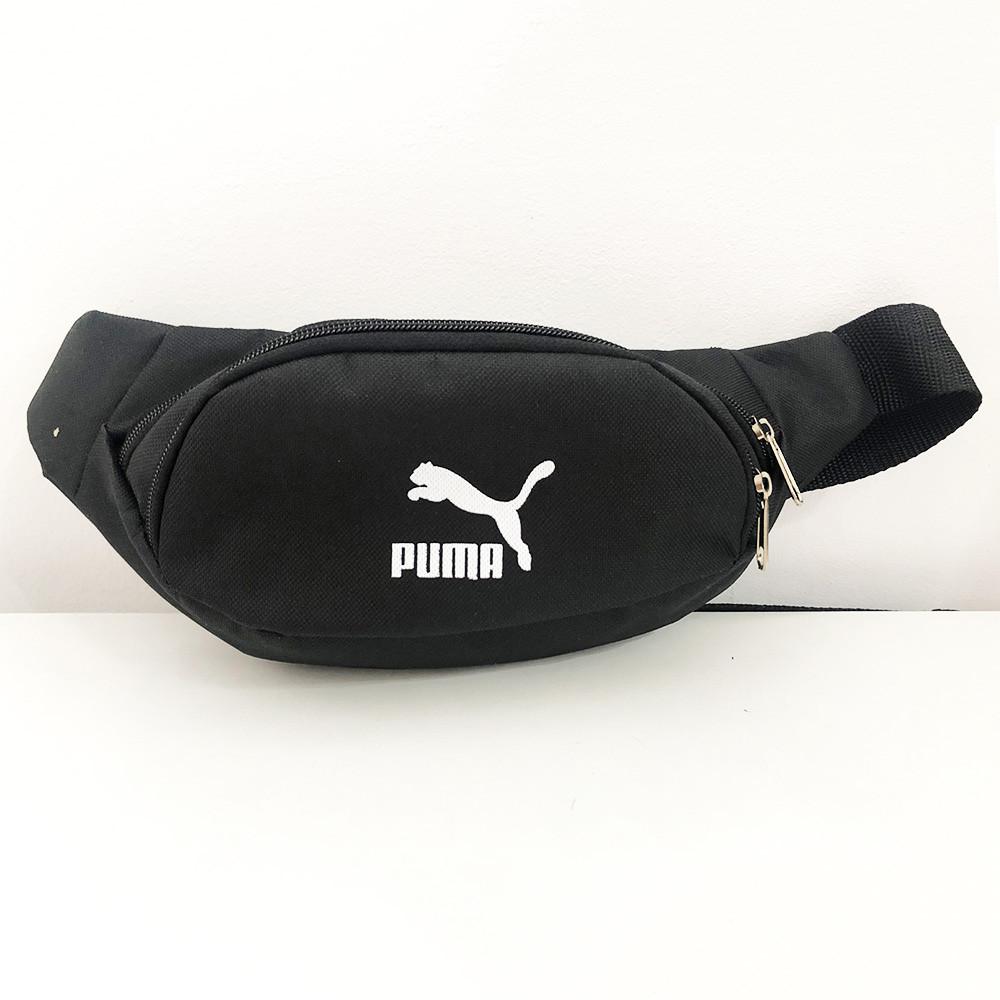 Бананка брендовий тканинна PUMA. Колір: сірий. Модель: 74871