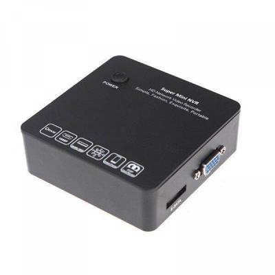 Мініатюрний 8-ми канальний IP відеореєстратор KENVS 6200 8CH, FULL HD 1080P c ONVIF, HDMI і підтримкою