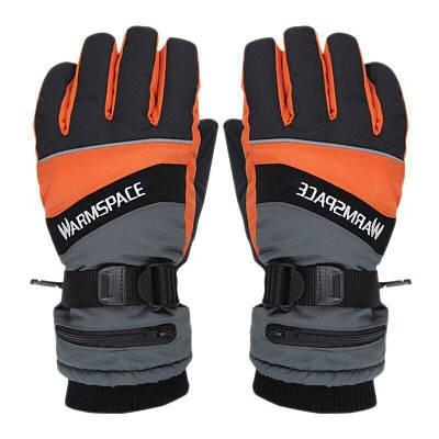 Зимові рукавички з підігрівом термо лижні Luckstone Warmspace HE329 з акумуляторами Original, розмір M,