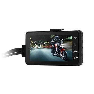 Відеореєстратор для мотоцикла з двома камерами Leshp SE300, FullHD 1080P, кут 140 градусів