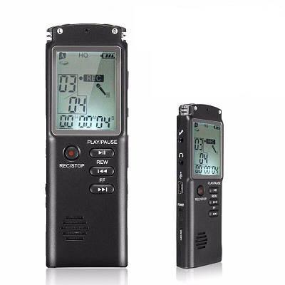 Портативний цифровий диктофон Savetek T-60, VAS, 32 Гб, MP3, стерео