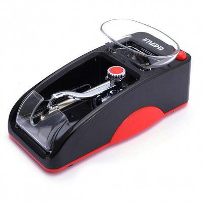 Електрична машинка для набивання сигарет Gerui GR-12 SLIM 6.5 мм Червона