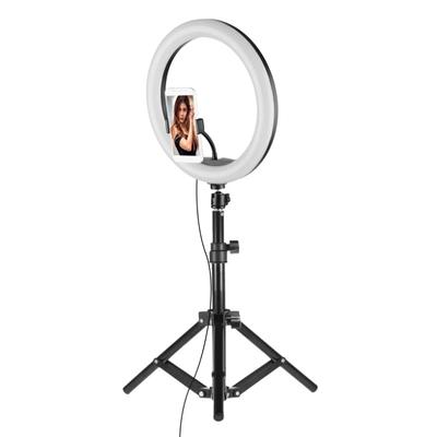 Набір блогера Селфи кільце з тримачем для телефону + Студійне фото штатив / Трипод