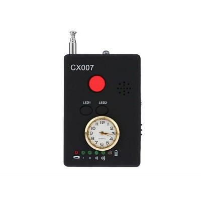 Детектор жучков - обнаружения скрытых видеокамер и аудио жучков CX007