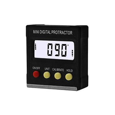 Угломер электронный, магнитный уровень, транспортир, инклинометр FUERS 134SL