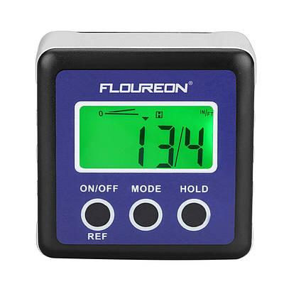 Електронний цифровий кутомір (інклінометр) Floureon DL134