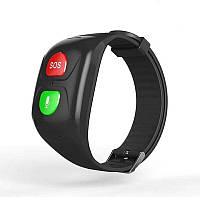GPS браслет для пожилых людей и детей GPAX SH993, трекер, микрофон, тонометр, шагомер, пульсометр (03109)