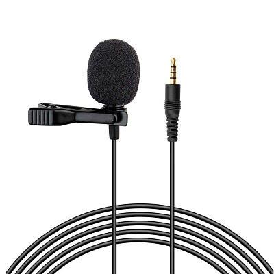 Петличный микрофон с клипсой Savetek M2, 4 pin, для записи со смартфонов