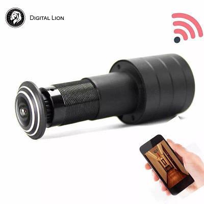 Wifi Видеоглазок Digital LIon DE178 с датчиком движения и записью | iOS и Android