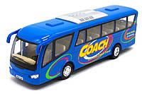 """Инерционный автобус """"Coach"""" (синий) KS7101W"""