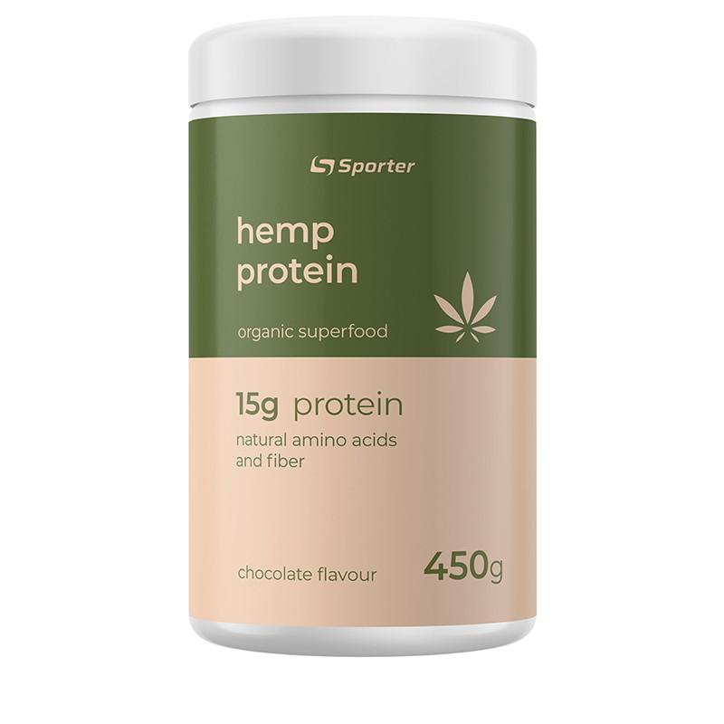 Протеїн Sporter Hemp Protein, 450 грам Шоколад
