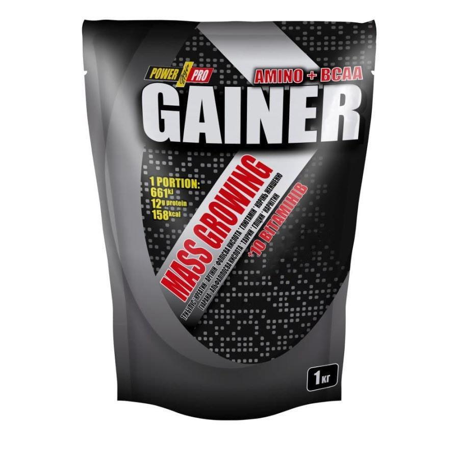 Купити Power Pro Gainer, 1 кг Ягода
