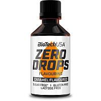 Заменитель питания BioTech Zero Drops, 50 мл Карамель