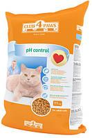 Корм Клуб 4 лапы поддержка мочевыделительной системы, для кошек, 11 кг