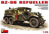1:35 Сборная модель топливозаправщика БЗ-38, MiniArt 35145