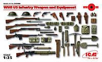 1:35 Американское оружие и амуниция периода Первой мировой войны, ICM 35688