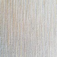 Шпалери вінілові на флізелін Rasch Victoria метрові однотонні тонка смужка під тканину сірі з золотистим, фото 1