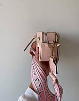 """Сумка Marc Jacobs Snapshot Pink ll """"Рожева"""", фото 3"""