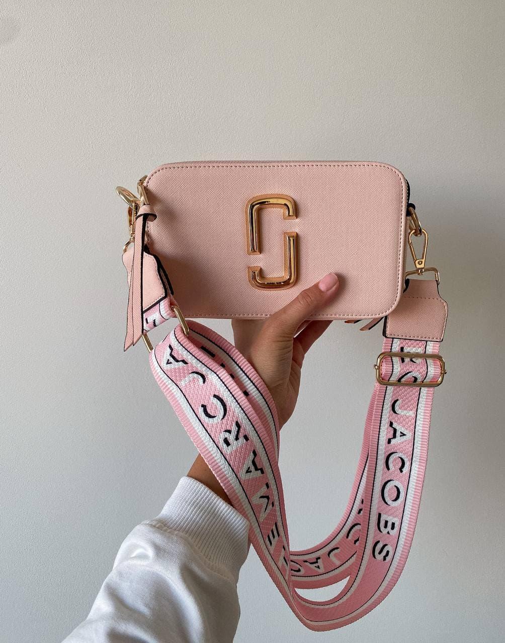 "Сумка Marc Jacobs Snapshot Pink ll ""Рожева"""