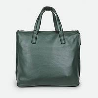 Велика жіноча сумка зелена шкіряна Fashion 1 170