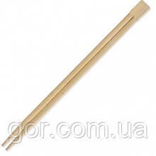 Палички для суші 21см (100шт) (1 пач)бамбукові одноразові в індивідуальній упаковці