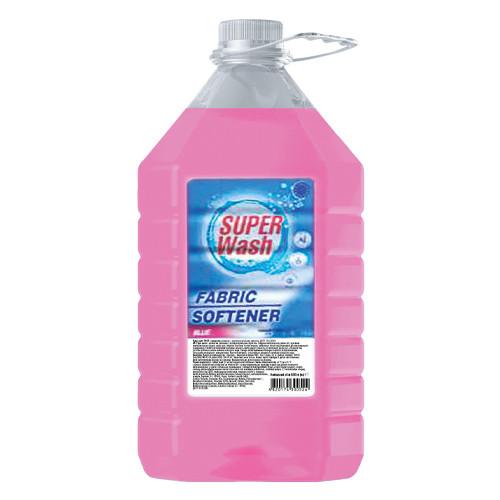 """Кондиционер для белья / ополаскиватель для стирки белья """"Super Wash"""" Pink - 5 л"""