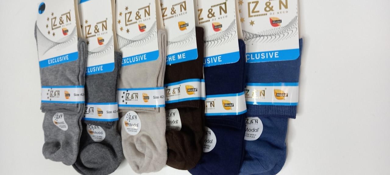 Мужские носки Z&N модал 42-45 средней высоты Exclusive
