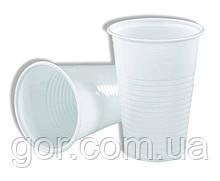 Пластиковий Стакан 200Кгр Атем білий (100 шт)