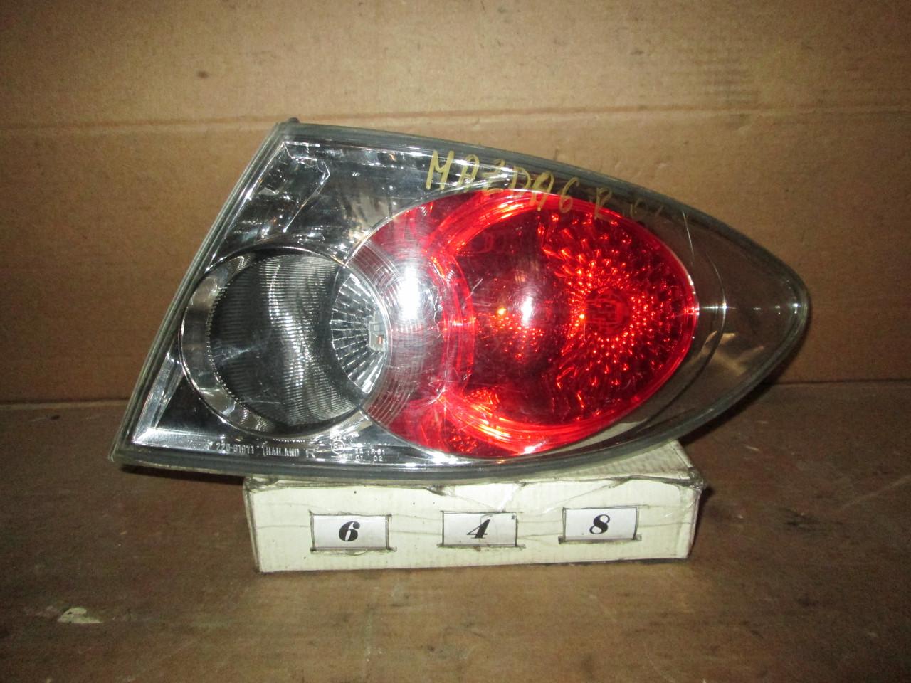 №648 Б/у ліхтар задній правий для Mazda 6 2002-2008 (Седан)