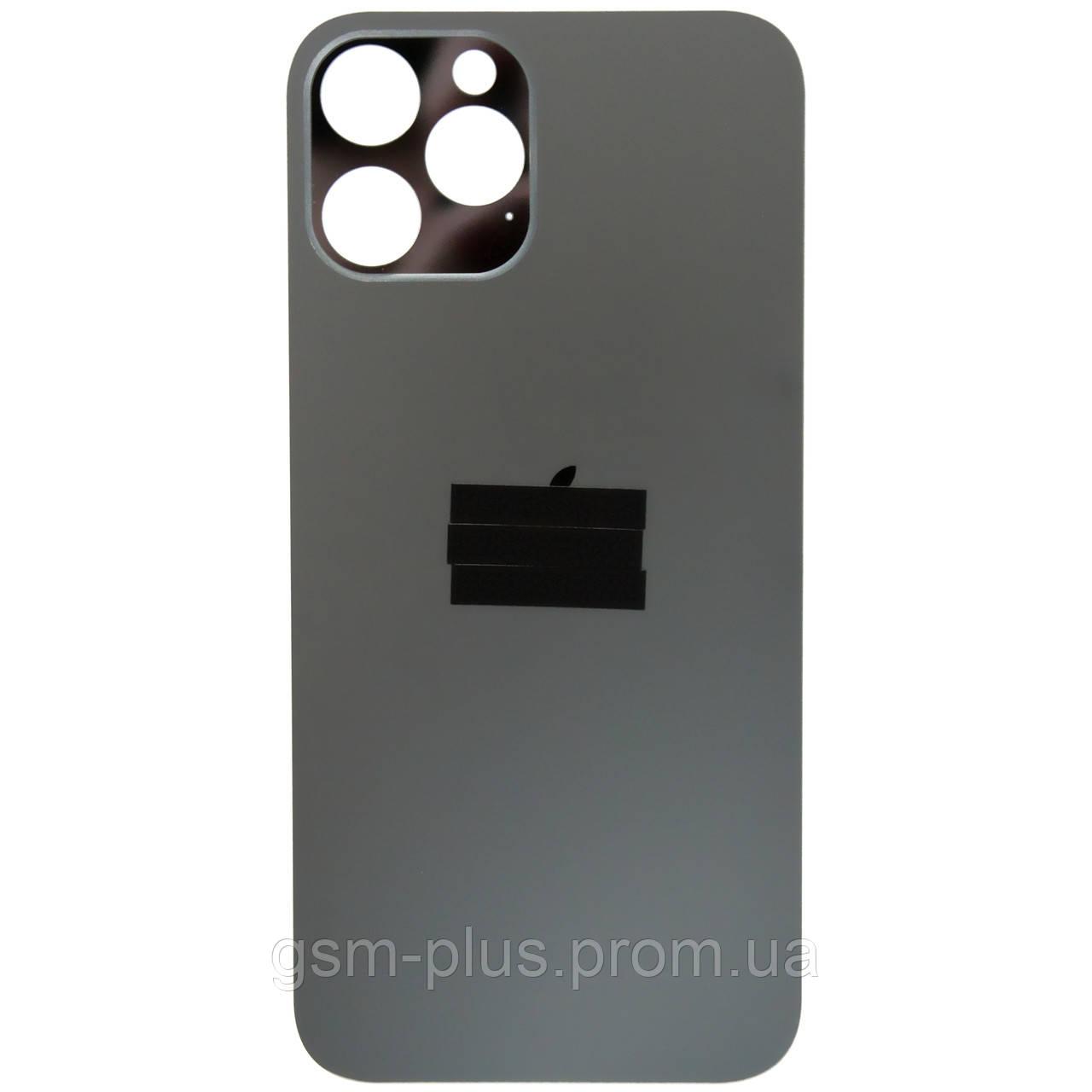 Кришка задня iPhone 12 Pro Max Graphite (великий виріз під камеру)
