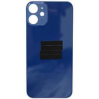 Кришка задня iPhone 12 Mini Blue (великий виріз під камеру)