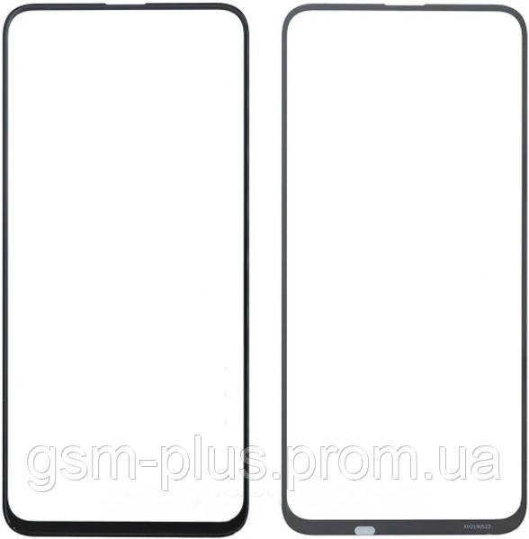 Стекло дисплея Huawei P Smart Pro, Y9S Black (для переклейки)