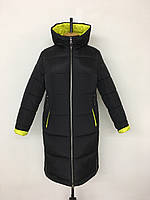 Стильне жіноче зимове пальто розміри 48-58, фото 1