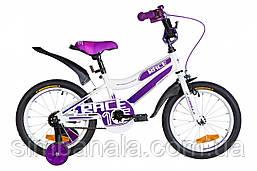 """Велосипед дитячий 16"""" Formula RACE 2021 (біло-фіолетовий)"""