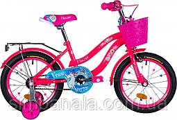 "Велосипед 16"" Formula FLOWER 2021 (рожевий з блакитним)"