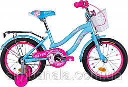 """Велосипед дитячий 16"""" Formula FLOWER (блакитний)"""