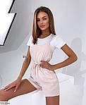 Жіночий комбінезон з шортами софт, фото 4