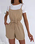 Жіночий комбінезон з шортами софт, фото 5