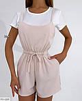 Жіночий комбінезон з шортами софт, фото 6