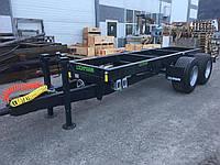 Сельскохозяйственный прицеп предназначен для сцепления с трактором (тягачом)