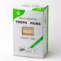 Зубочистка з ментолом в індивідуальній целофановій упаковці (1000 шт) (1 пач.)