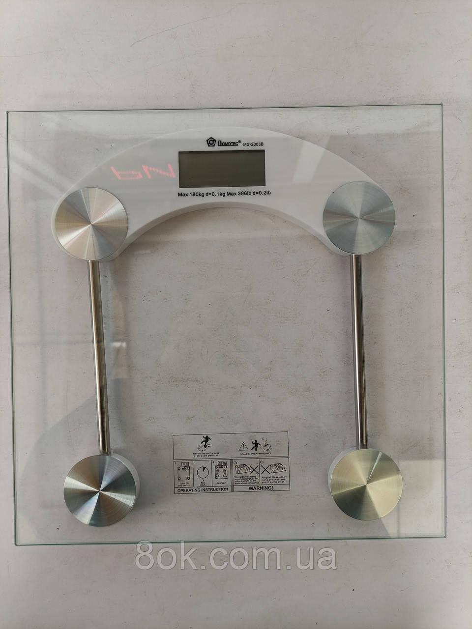 Электронные напольные весы Domotec MS-2003B