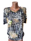 """Блуза футболка жіноча """"Еріка"""" р.50-52 бавовна стрейч. Від 3шт по 49грн, фото 2"""