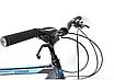 """Городской велосипед 28"""" Crosser GAMMA черно-синий, фото 3"""