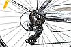 """Городской велосипед 28"""" Crosser GAMMA черно-синий, фото 4"""
