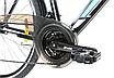 """Городской велосипед 28"""" Crosser GAMMA черно-синий, фото 5"""