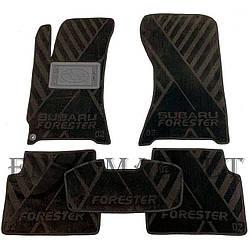 Текстильные коврики в салон Subaru Forester 2 2002-2008 (AVTO-Tex)