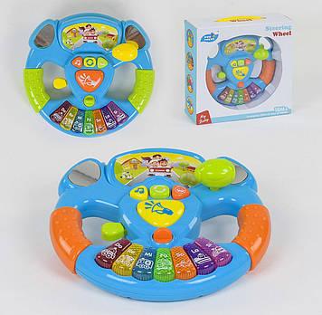 Дитячий розвиваючий музичний кермо зі звуковими ефектами цього автомобіля Розвиваюча іграшка